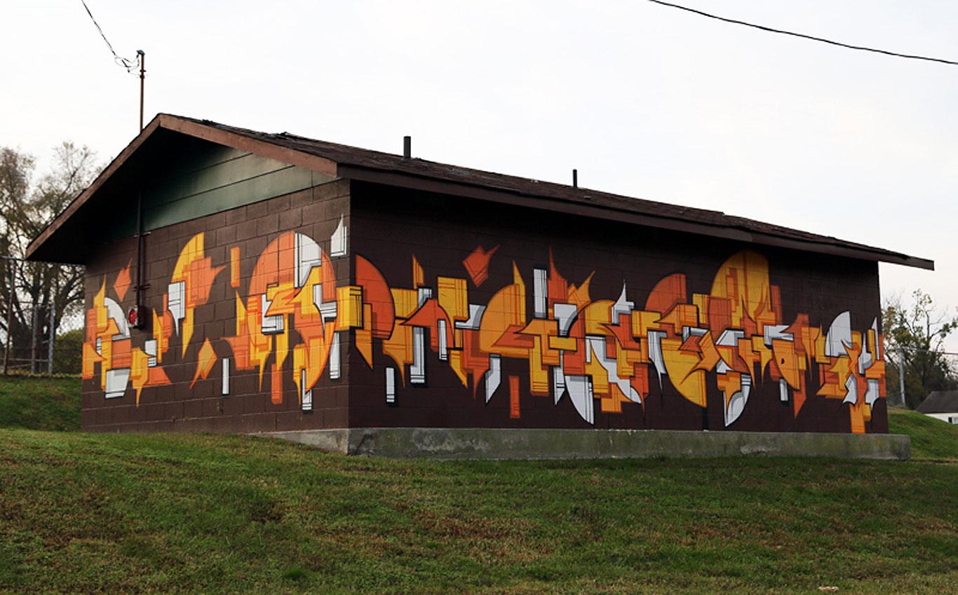 petersburg mural